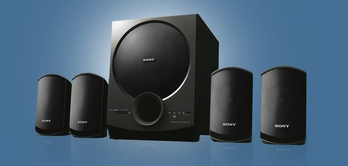New Impressive Range of Sony Speaker Systems Debuts in India