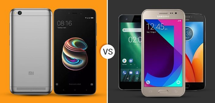 Top Budget Smartphones in India Compared: Redmi 5A Vs Others