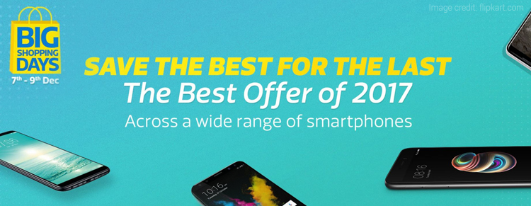 Flipkart Big Shopping Days: Get Prepared for the Last Smartphone Sale of 2017