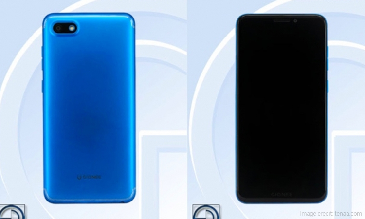 Gionee F205L Appears on TENAA with 5.45-Inch HD+ Display