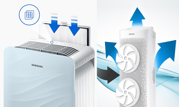 Samsung AX7000, AX3000 Air Purifiers Launched in India