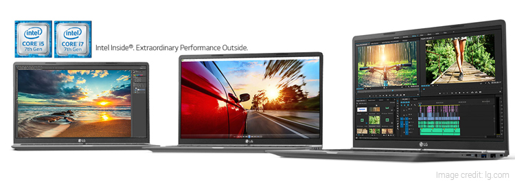 LG Gram Laptops Launched with Full-Day Battery Life