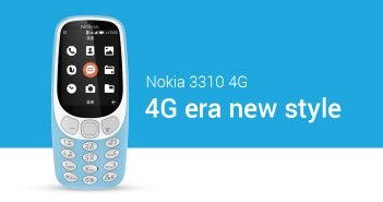 Nokia 3310 4G Model Launched with YunOS: Specs, Features