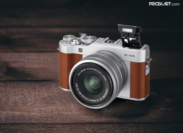 Fujifilm X-A5 Mirrorless Camera with PowerZoom Lens Unveiled