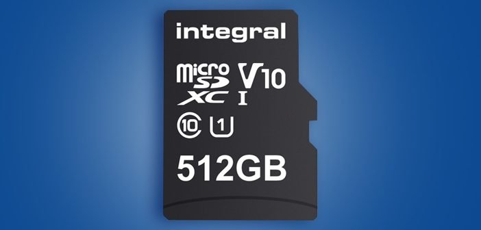 Integral Launches World's Biggest 512GB microSD card