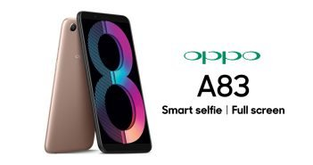 Oppo A83 Launched in India with 3GB RAM