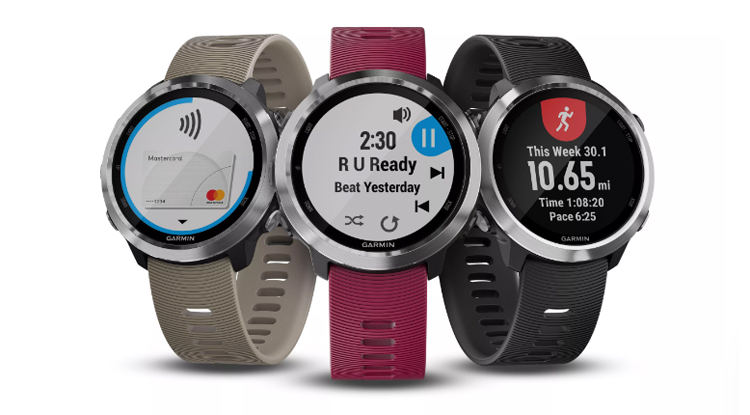 Garmin Forerunner 645 Smartwatch with Built-in Music Player Launched