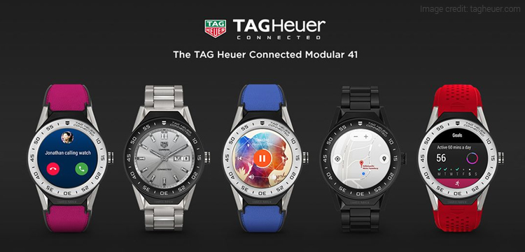 Tag Heuer Connected Modular 41 Premium Smartwatch Launched