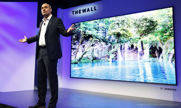 These Latest Samsung TVs Launched at CES 2018, will Blow your mind