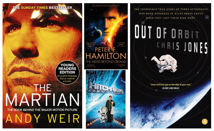 Top 5 Fiction Books That Will Take You on a Trip through Space