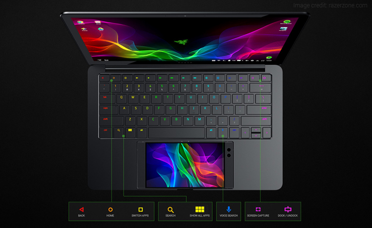 Razer Unveiled Project Linda That Transforms Smartphone into Laptop