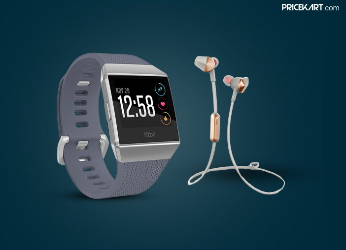 Fitbit Ionic Smartwatch, Flyer Wireless Headphones Launched in India