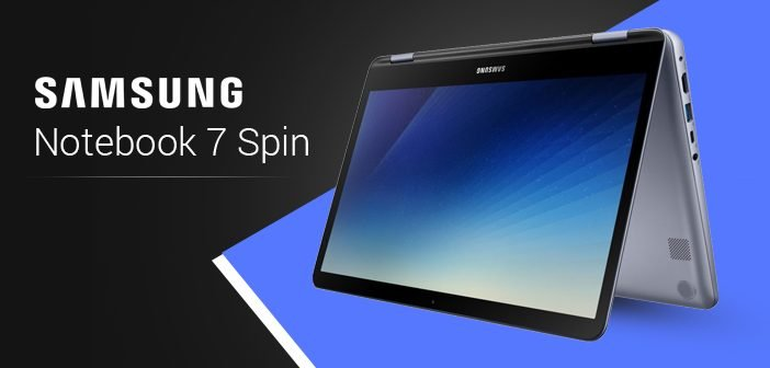 Samsung Notebook 7 Spin Launched with 360-Degree Rotating Display