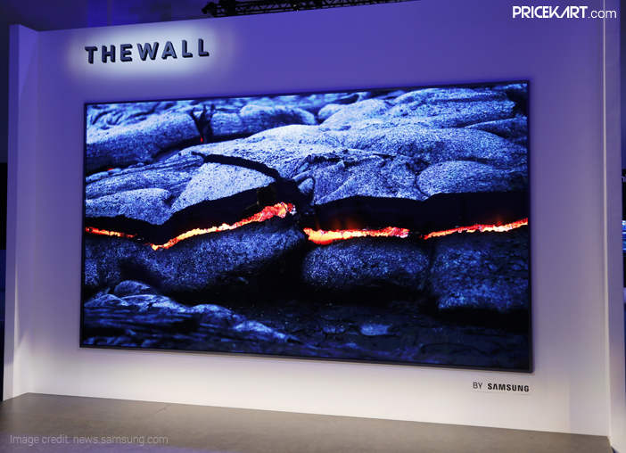 Samsung's 146-inch The Wall TV to Launch in August