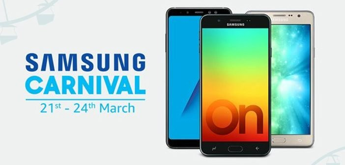 Samsung Carnival on Amazon: Deals on Top Smartphones, TVs, Appliances