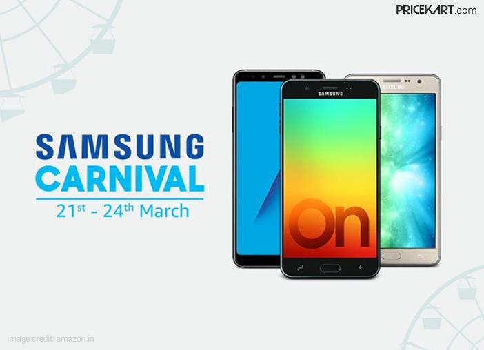 Samsung Carnival on Amazon: Deals on Top Smartphones, TVs, Appliances