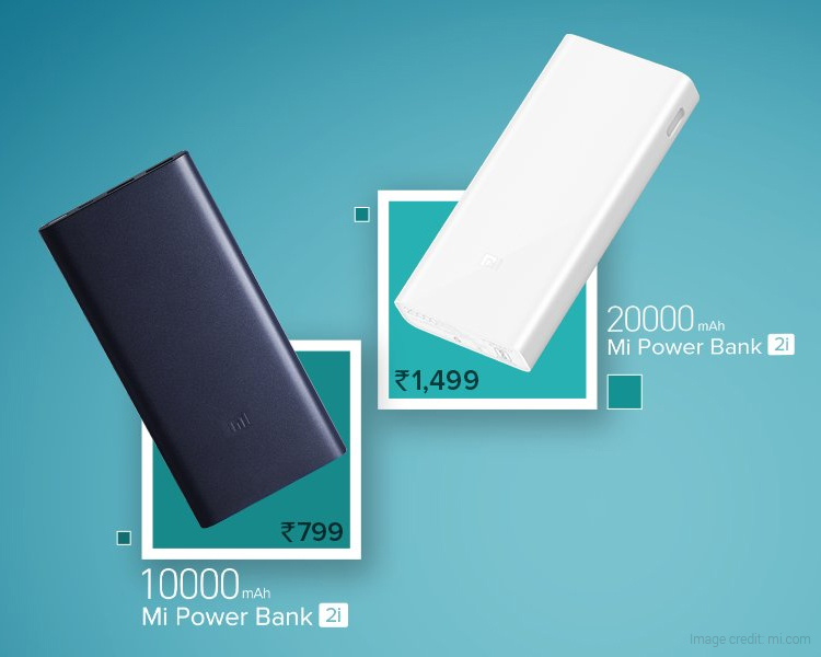 Xiaomi Mi Power Bank 2i Now Available at Leading Online Stores in India