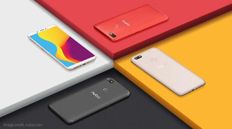 Nubia V18 with 4000mAh battery, 6.01-inch Display Launched
