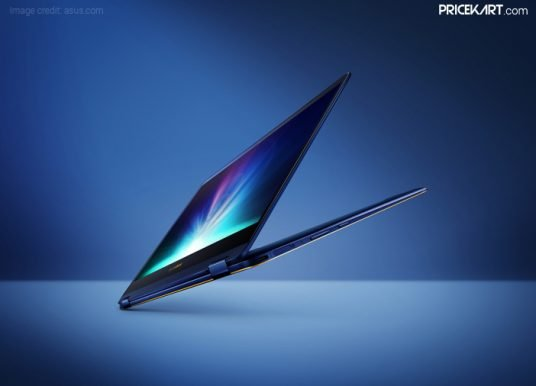 Asus ZenBook Flip S (UX370UA) Convertible Laptop Launched in India