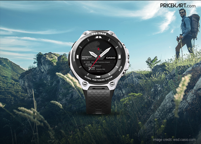 Casio WSD-F20A with Wear OS, Water Resistant Body Launched