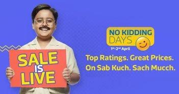 Flipkart No Kidding Days Sale: Top Deals and Offers