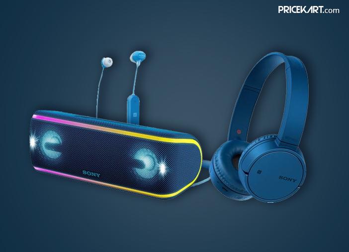 Sony Launches New Range of Wireless Headphones & Bluetooth Speakers in India