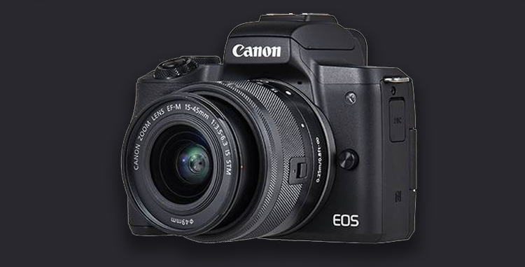 Canon EOS M50 Camera Launched with Support for 4K Recording