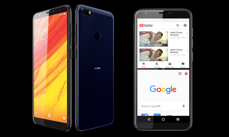 Lava Z91 with Face Unlock Feature Launched in India