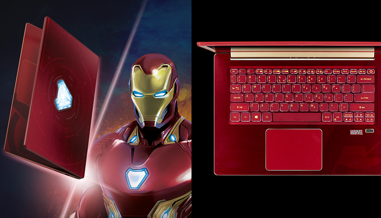Love Superheroes? These Avengers Infinity War Acer Notebooks will Amaze You