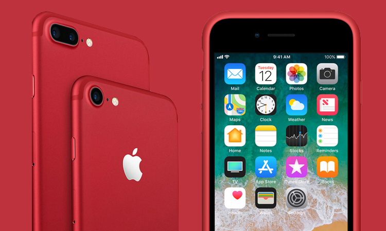 New RED Editions iPhone 8, iPhone 8 Plus (Product) Launched in India