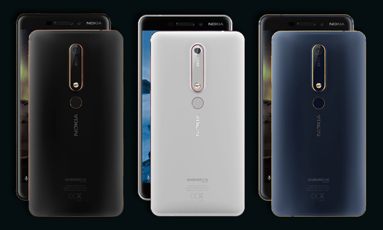 Nokia 6 (2018) Launched in India with ZEISS Optics