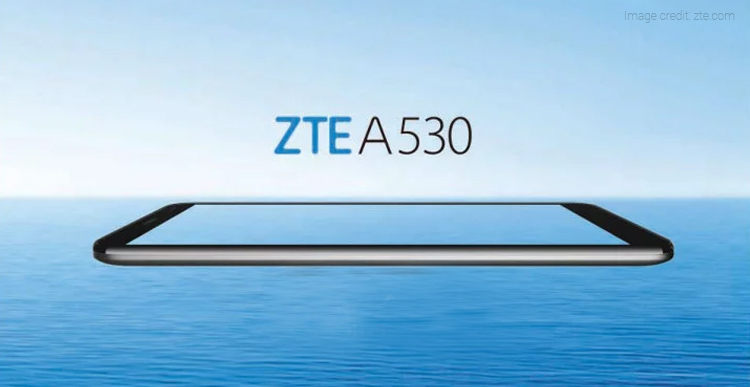 ZTE A530 Smartphone Launched with Android Oreo, HD+ Display