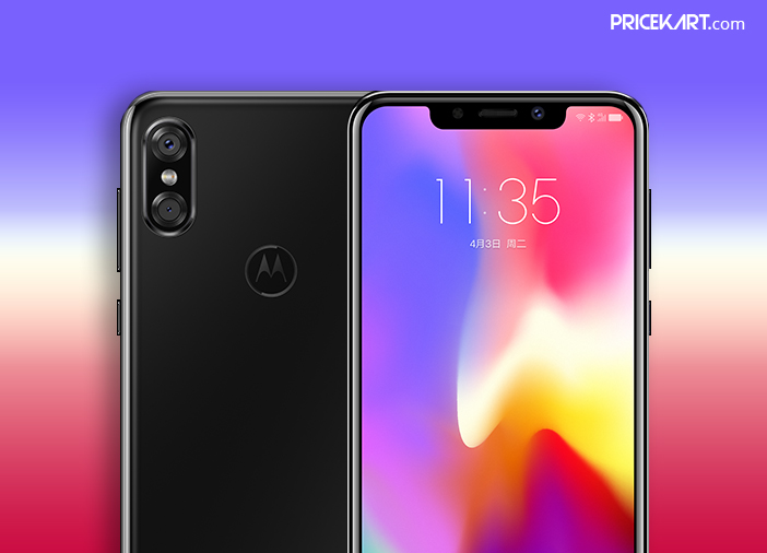 Motorola P30 Debuts with iPhone X-Like Design