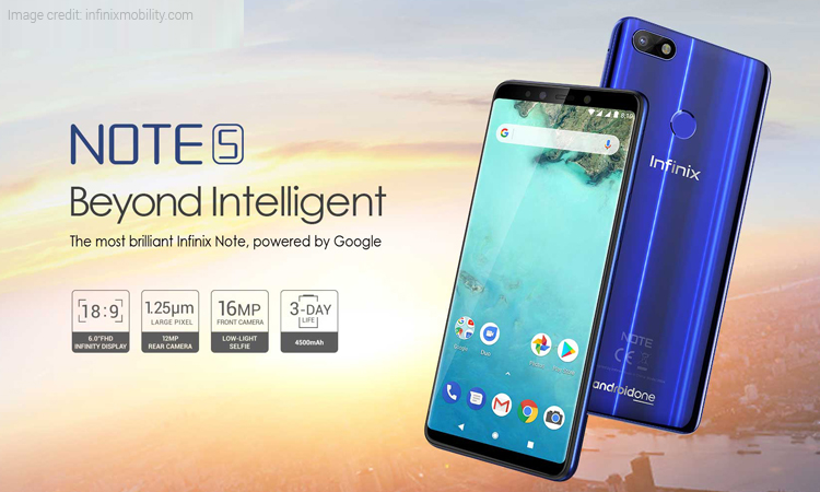 Infinix Note 5 First Sale in India Starting at Rs 9,999