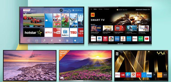 Top 5 Smart TVs Under 15000 to Buy in India in 2018