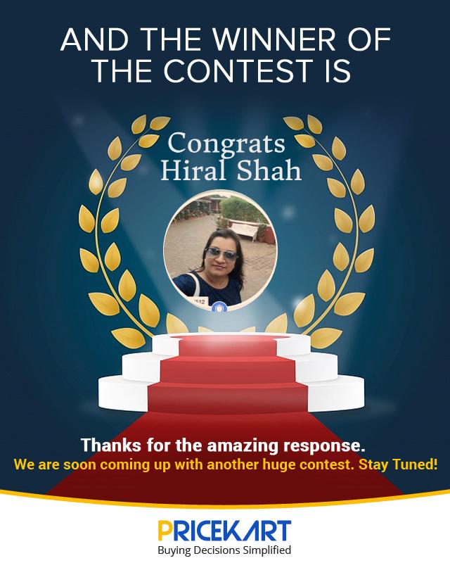 Amazon voucher contest winner