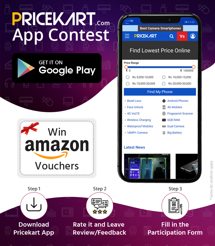 Pricekart App Contest February 2019