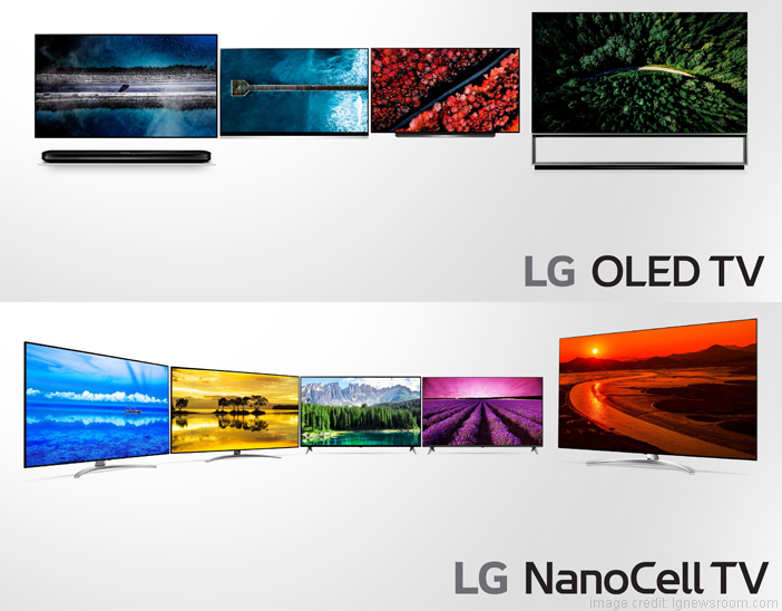 New Range of LG 2019 ThinQ AI 8K OLED TVs Announced