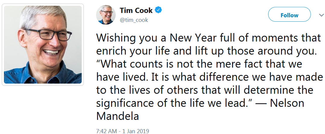Top 10 New Year 2019 Wishes by Famous People Around the World