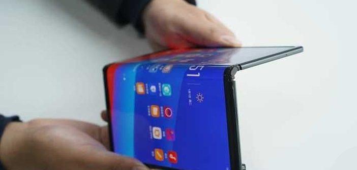 Oppo Foldable Smartphone Prototype Reveals Design & Features