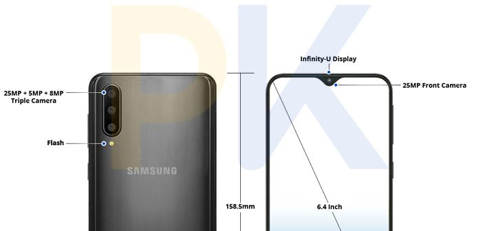This is What the Samsung Galaxy A50 Might Look Like