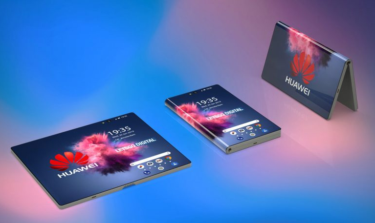 3D Images & Renders Give a Glimpse into the Huawei Foldable Phone