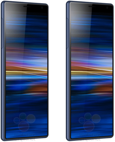Sony Xperia XA3 Ultra Press Renders Reveals the Design of the Smartphone