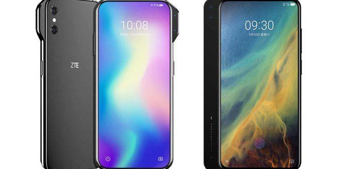 ZTE Axon V & ZTE Axon S Renders Take Smartphone Design to a New Level