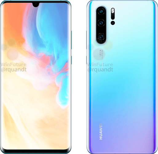 Images of Huawei P30 Pro Reveal Quad Rear Camera Setup