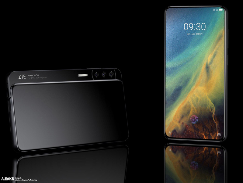 ZTE Axon V & ZTE Axon S Renders Take Smartphone Design to a New Level