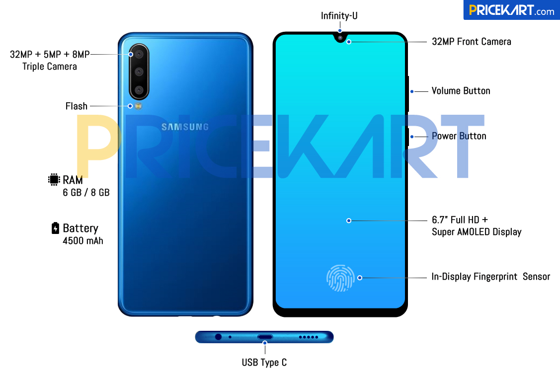 Samsung Galaxy A60 Specs Revealed, Here's a Look at the Smartphone