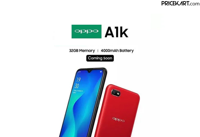 Oppo A1K to Debut in India Soon with a Massive 4000mAh Battery