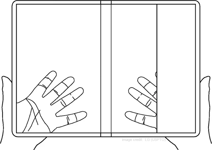LG Files a New Patent for a Foldable Transparent Smartphone