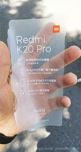 Redmi K20 Pro Could Launch as the Snapdragon 855 Flagship Smartphone